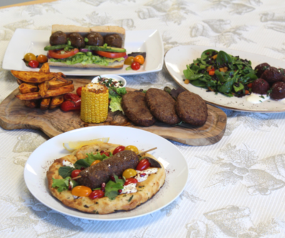Selection of Flexitarian Dishes