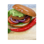 Mexican Style Red Pepper & Quinoa Burger