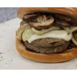 Mushroom & Onion Burger